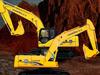 龙工推出新品挖掘机