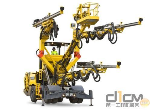 阿特拉斯·科普柯推出新型Boomer XL3D三臂凿岩台车