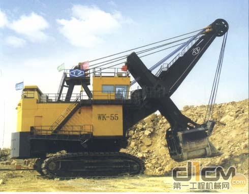世界最大矿用挖掘机