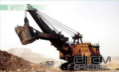 露天矿用大型电铲