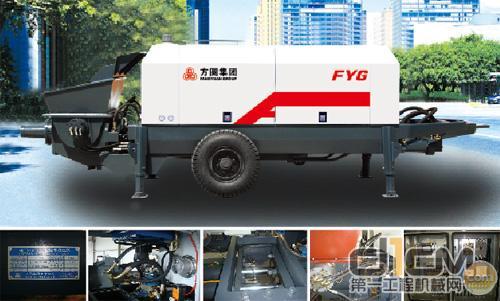 方圆HBTS40-12-75型拖式混凝土泵