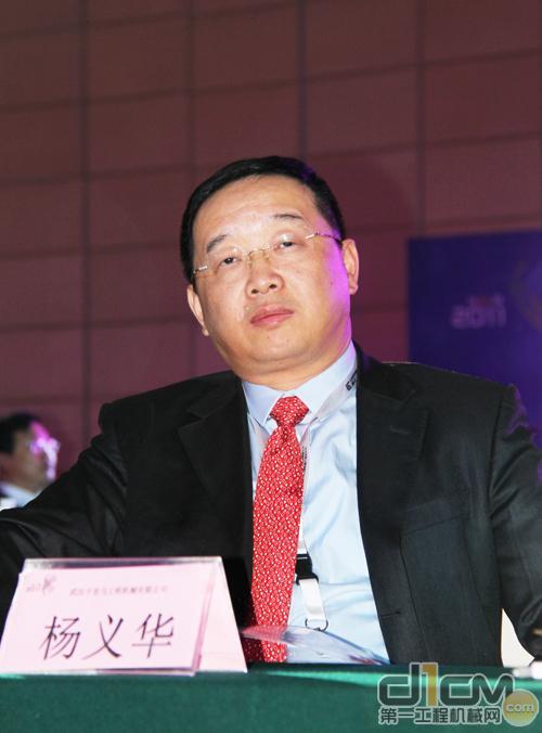 武汉千里马工程机械有限公司董事长杨义华