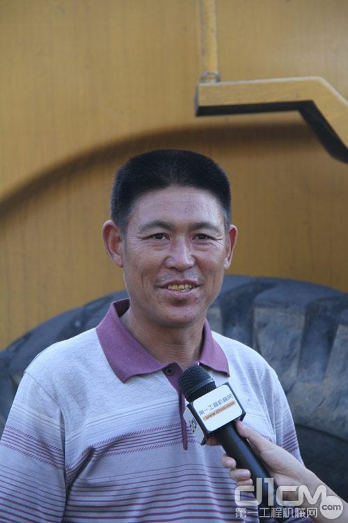 柳工的忠实老牌客户,北京顺义某煤场老板李先生