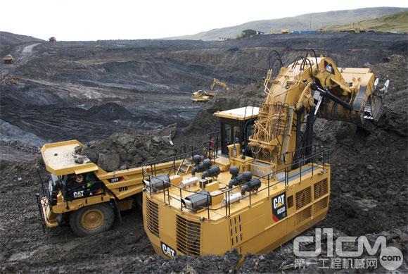 卡特彼勒6030b fs液压挖掘机图片