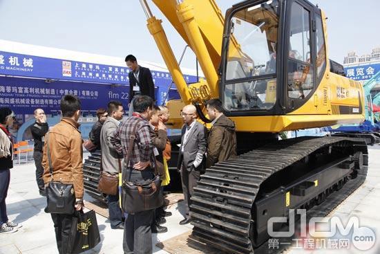 廈工多款新品在廈門國際石材展上受熱捧