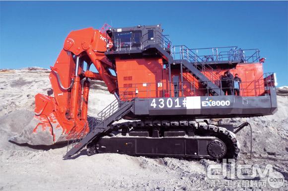 日立ex8000e-6型电动液压挖掘机图片