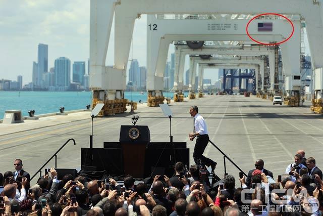 """美国国旗难掩""""中国制造""""光芒 奥巴马也尴尬"""
