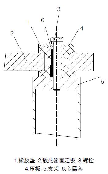弹性支座结构