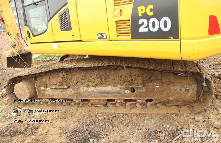 图解说设备:小松pc200-8m0型挖掘机
