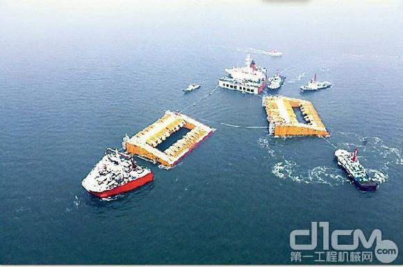 山东青岛武船重工建造出最高端深海海工装备