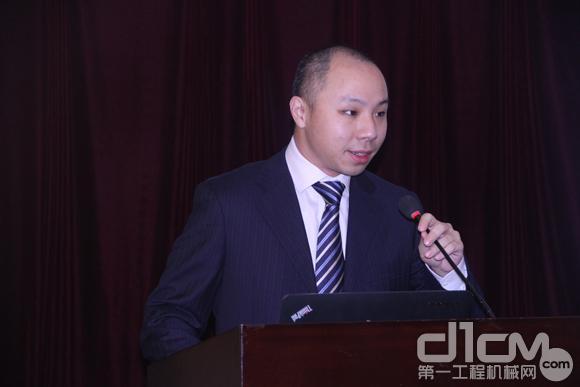 日立建机(上海)有限公司营业本部产品流通部主任孙羚