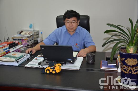 江苏柳工总经理龚勋接受访谈