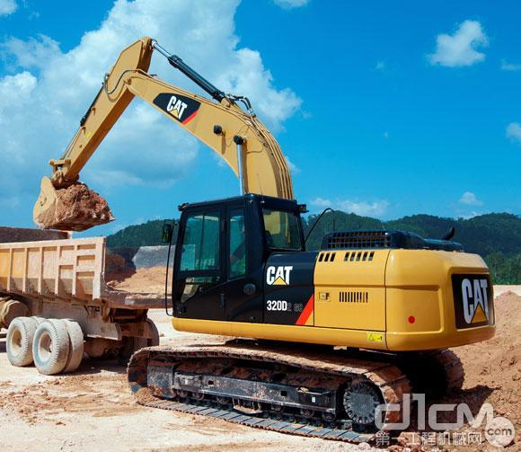 卡特液压挖掘机320d系列2 全新升级上市图片