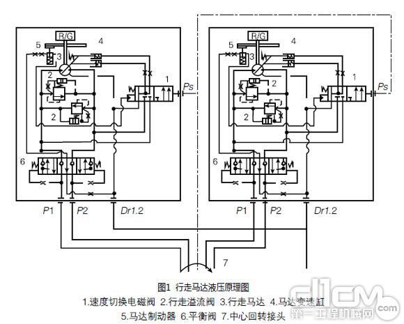 挖掘机液压系统故障三例图片