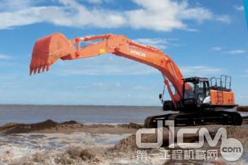 日立建机zx470lch-5g型挖掘机