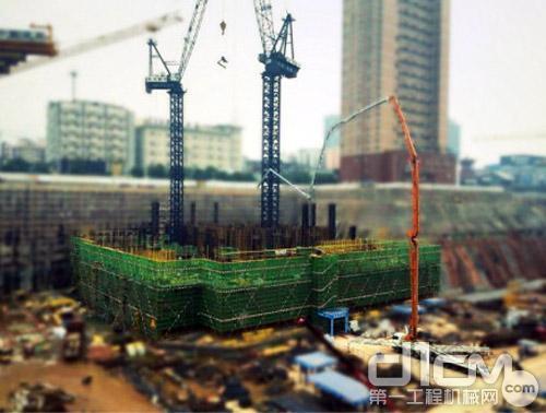 助力湖南省第一高楼建设