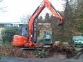 ET30挖掘机在快乐的玩乐工作中