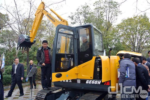 国机重工GE60H挖掘机