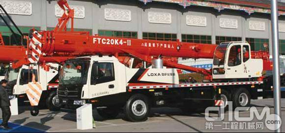雷萨重机FTC系列汽车起重机