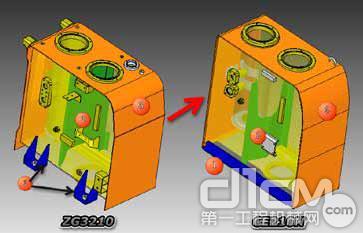液压油箱全新的内部结构,加固了板材,加固了油箱支脚