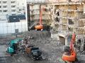 施行现场建筑物拆除4铲 REC破碎机