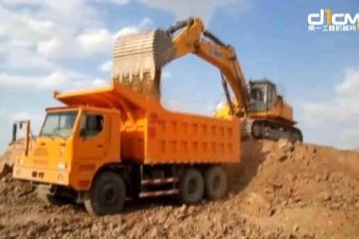 徐工XE700C挖掘机视频