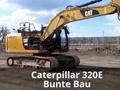 卡特勒彼320E和329D挖掘机在装车