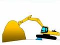 视频: 挖掘机禁止作业内容动画演示