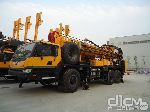 徐工油页岩开采定制钻机XSZ1000顺利下线