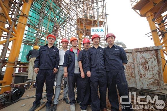 620米云端泵送三一重工再度刷新世界纪录