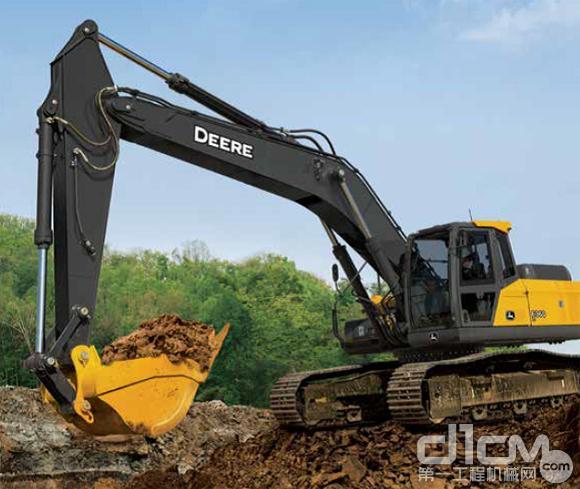 约翰迪尔在中国推出E300、E330和E360挖掘机