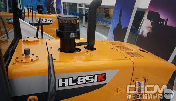 现代HL851K轮式装载闪耀宝马展