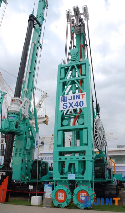 上海金泰SX40双轮铣槽机