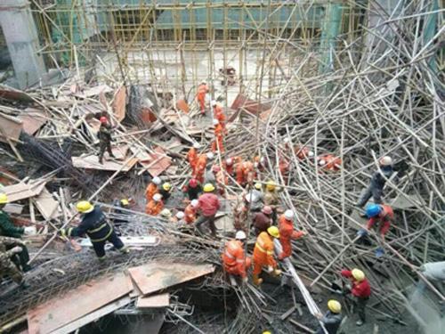 钢结构工程事故图片