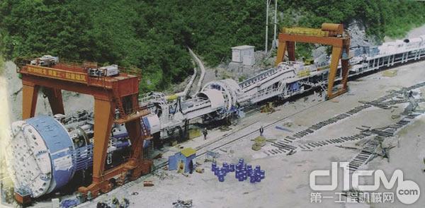 我国全断面隧道掘进机重大技术装备自主化