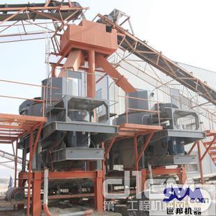 世邦机器VSI5X系列制砂机设备助力高速建设