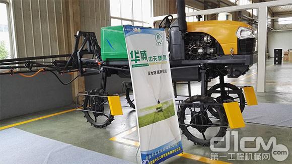 3WPG-600高地隙水旱两用喷杆喷雾机产品展示