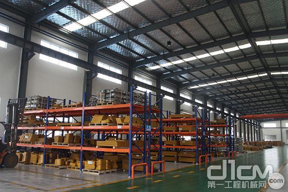 山东太阳耐磨件有限公司成品展区