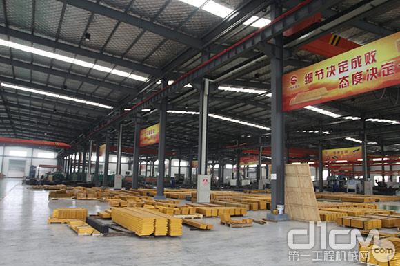山东太阳耐磨件有限公司厂区