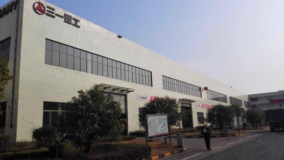 三一重工产业园一角-新代理商加盟 三一加速开拓新加坡市场