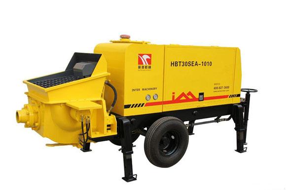 英特小型泵车:新农村建设的中坚力量