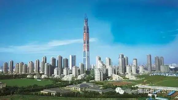 117大厦主塔楼全景