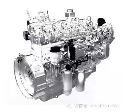 1柴油机采用电控高压共轨+scr技术