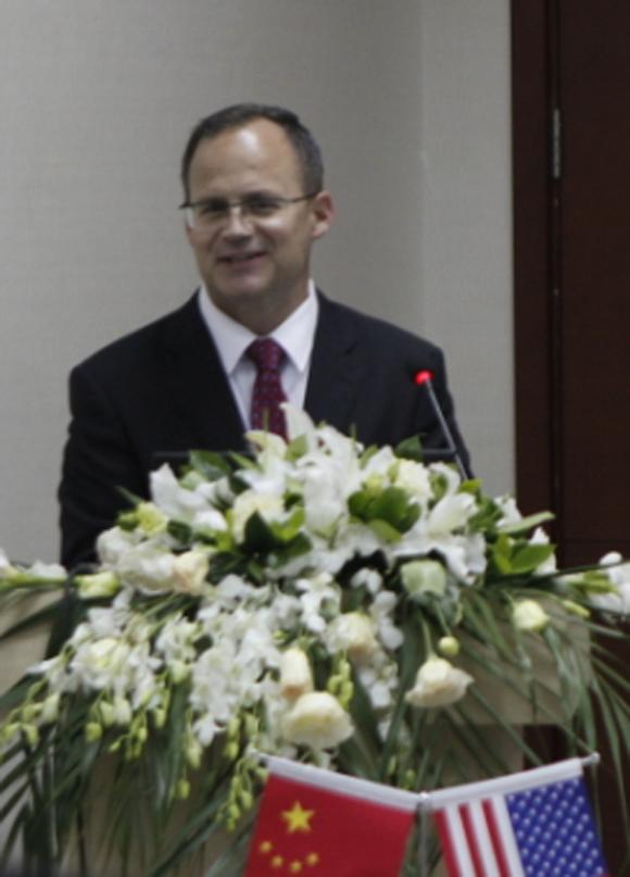 特雷克斯中国总裁Ken Lousberg