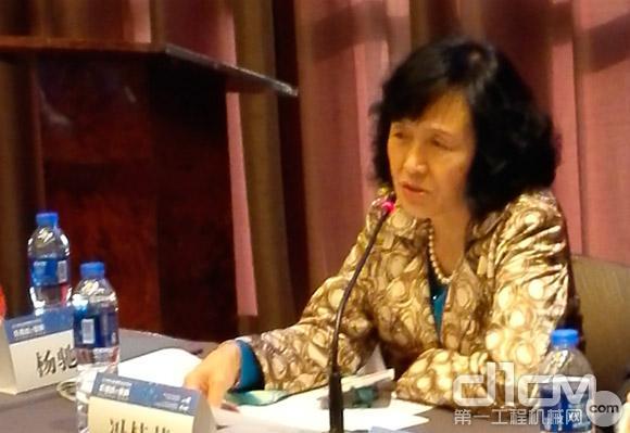 DCCCM常务副会长兼秘书长冯桂英女士