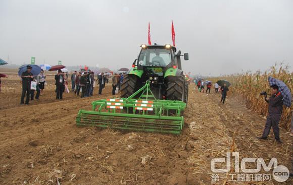 山东常林三秋农业生产机械化解决方案技压群