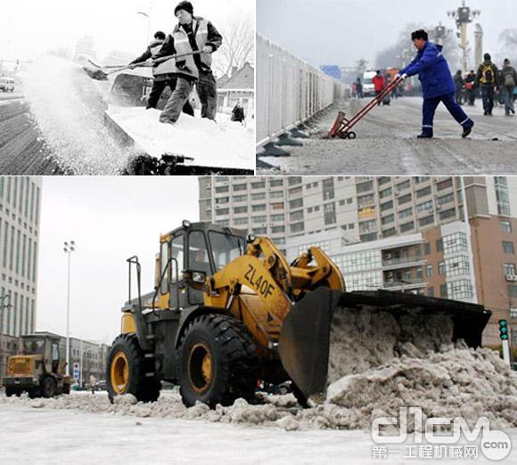 常见城市道路除雪方法:融解法和清除法