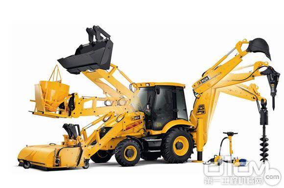 """小型除雪设备、特殊路段除雪设备(俗称""""两头忙""""的挖掘装载机)"""