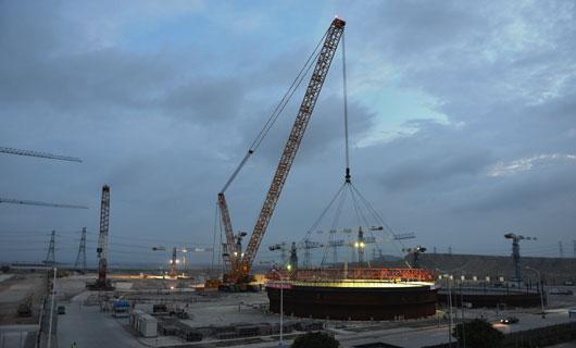 徐工2000吨级履带起重机核电吊装再启航