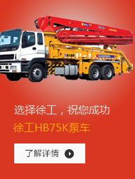 徐工HB75K泵车